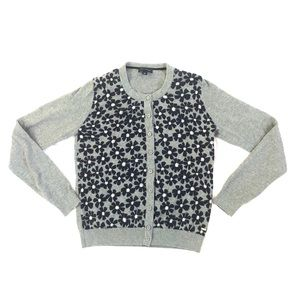 Tommy Hilfiger Floral Button Down Cardigan
